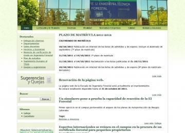 Escola Enxeñería Forestal UVigo